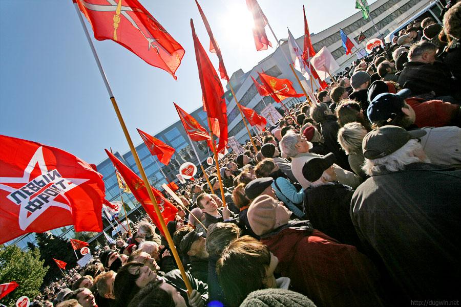 митинг против строительства охта-центра
