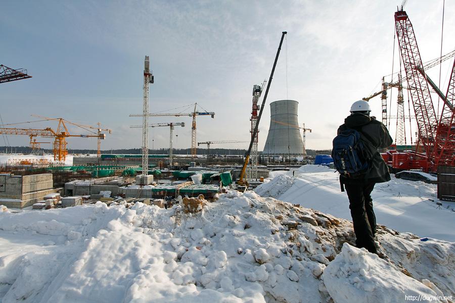 Стройка ЛАЭС-2