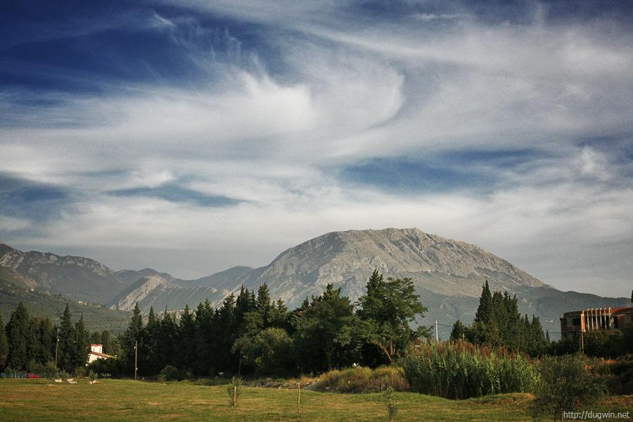 черногория, горы