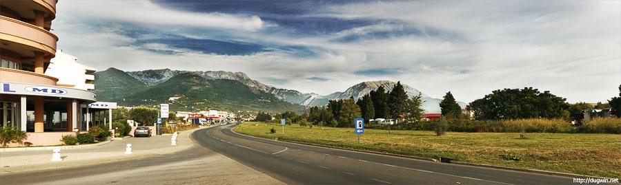 черногория горы