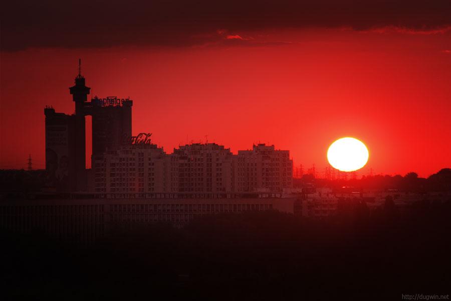 закат, белград