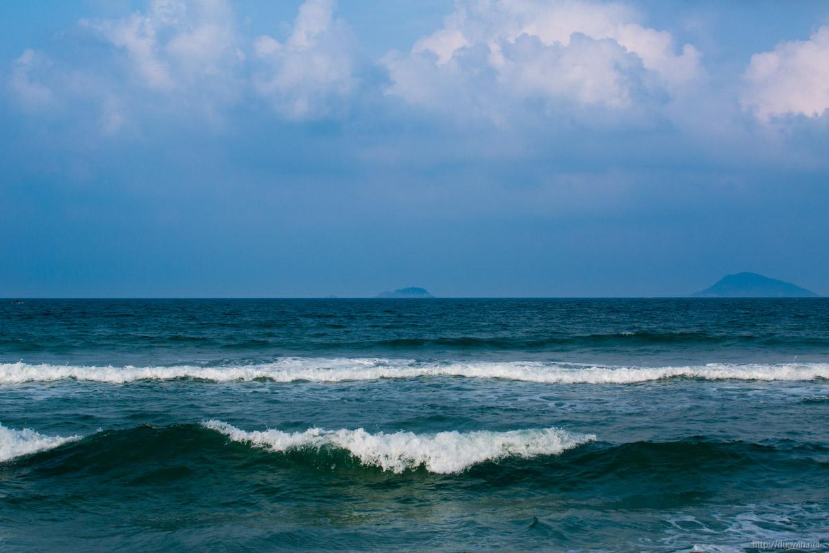 море волны вьетнам